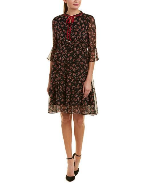 【正規品質保証】 ファッション ドレス Elenyun Silk Midi Dress 4-6, 機械屋-SOGABE 15462a1c