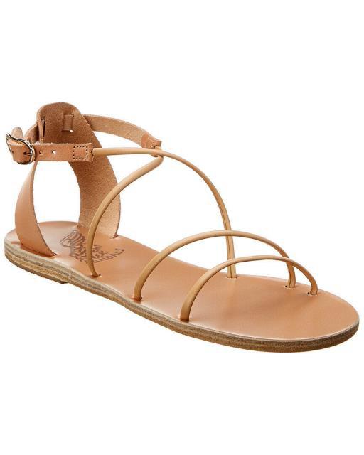 超歓迎された ファッション サンダル Ancient Greek Sandals Meloivia Leather Sandal 36 Brown, シモキタヤマムラ 4b0bbea8