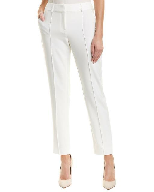 【新品、本物、当店在庫だから安心】 ファッション 衣類 St. John Silk-Blend Pant 2 White, hoo Nigen gallery a149398b