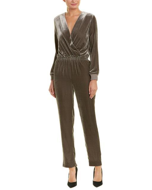 福袋 ファッション ドレス St. John Silk-Blend Jumpsuit 12 Grey, 【1着でも送料無料】 68a91055