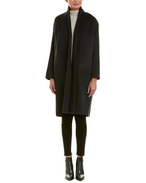 独特な ヴィンス Coat M Vince Vince ファッション フォーマル Grey High-Collar Wool-Blend-その他アクセサリー・ジュエリー