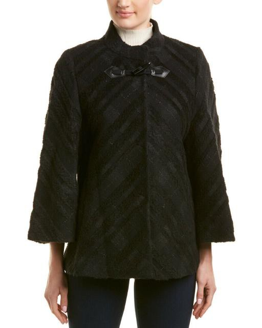 割引価格 Plaid ファッション 衣類 Cinzia Rocca Plaid Wool-Blend Jacket, 豊頃町 cc032355