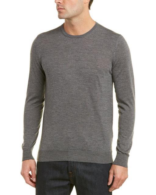 激安人気新品 ファッション トップス Pal Zileri Cashmere Crewneck Sweater, 色丹村 db42fd83