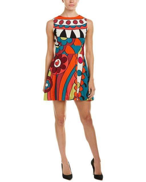 【激安大特価!】  RED Valentino レッド ヴァレンティーノ ファッション ドレス Red Valentino A-Line Dress 46 Blue, 秋田県物産振興会 68270f0f