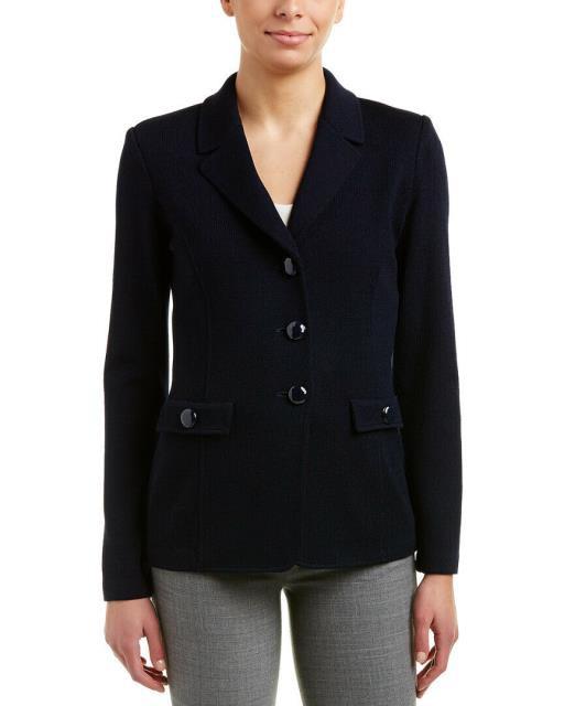 【楽天最安値に挑戦】 Blazer ブレザー ファッション 衣類 St. St. John John Blazer Wool-Blend Blazer, Planino(プラニノ):670f66b9 --- chevron9.de