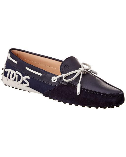 第一ネット Tods トッズ Tods 36 シューズ シューズ/サンダル Tods Gommino Gommino Suede & Leather Loafer 36 Blue, GEEKED UP:adbc15e0 --- 1gc.de
