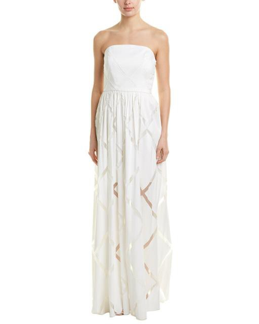 高価値セリー Milly ミリー ファッション ドレス Milly Silk-Blend Gown, 愛筆屋 a2b84484