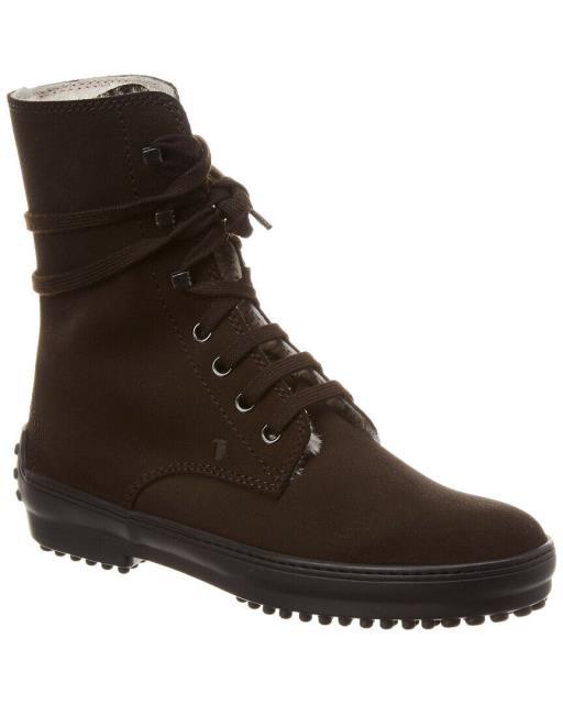 買取り実績  Tods トッズ シューズ ブーツ Tods Tods Tods Suede Ankle Boot Boot 34.5 Black, 北のFRP屋 プラマーレ:a0cdc159 --- 1gc.de