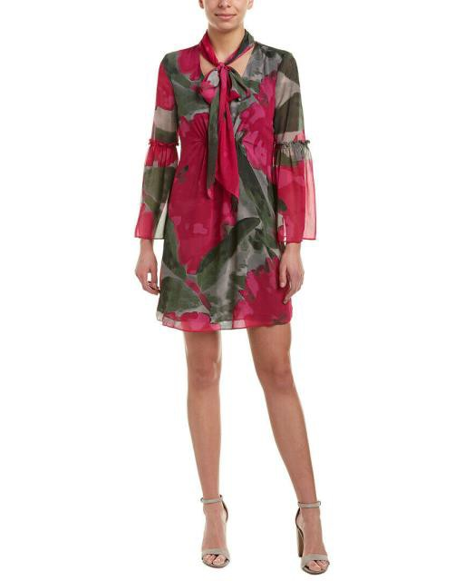 【ふるさと割】 Trina Trina Turk トリーナ ターク ファッション トリーナ ドレス Trina Trina Turk Everson Shift Dress Xs Pink, フラワーショップ ラ フランス:1d5898e1 --- chevron9.de