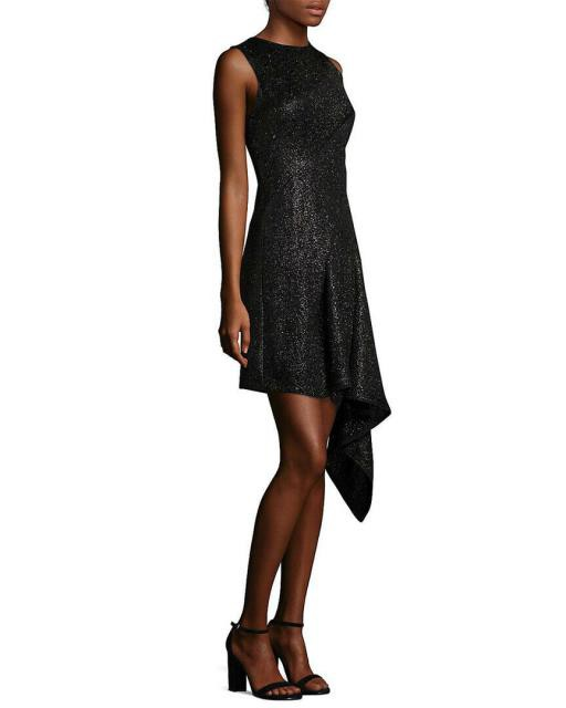 最高級のスーパー ファッション Asymmetrical ドレス Aquilano Rimondi 44 Asymmetrical A-Line Dress 44 A-Line Black, おまとめマーケット:3c0e72de --- schongauer-volksfest.de