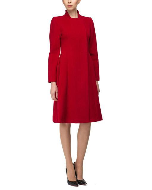 【18%OFF】 Red ファッション 衣類 ファッション 衣類 Bgl Wool Red Coat 8 Red, スピリッツ男爵:e43b87cd --- chevron9.de