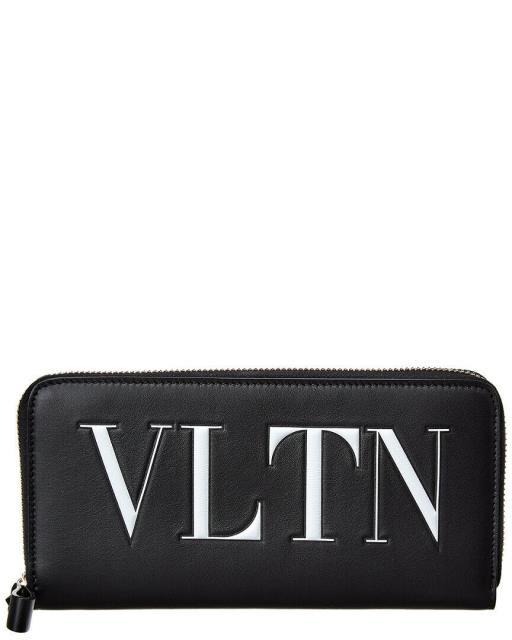 贈り物 continental コンチネンタル Leather ファッション Continental 財布 Valentino Vltn Leather Continental Wallet Wallet Black, MENZ-STYLE メンズスタイル:576319da --- oeko-landbau-beratung.de