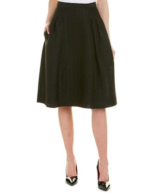 限定価格セール! Carolina Carolina ファッション Herrera スカート Carolina Herrera Carolina Silk-Lined A-Line Skirt, PCショップEYES:407f3795 --- chevron9.de