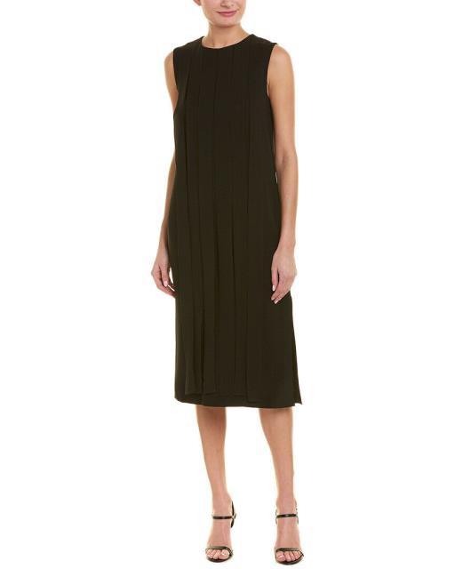 大人気新作 Shift ドレス マックス ファッション Silk-Trim Mara Dress Max max-ドレス