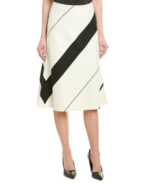 無料発送 Narciso Stripe Rodriguez ナルシソロドリゲス ファッション スカート Narciso Rodriguez Stripe Narciso Midi Wool Midi Skirt, 新規購入:9f2fa6e8 --- eu-az124.de
