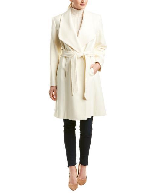 注目 ファッション ファッション 衣類 Wrap Sofiacashmere Wool-Blend Wrap Coat 4 Sofiacashmere White, イトグン:8644b60f --- eu-az124.de