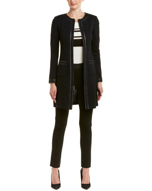 新作人気 ファッション 衣類 Topper St. Wool-Blend John Leather-Trim ファッション Wool-Blend Topper 0, homegrow:3f2c794a --- eu-az124.de