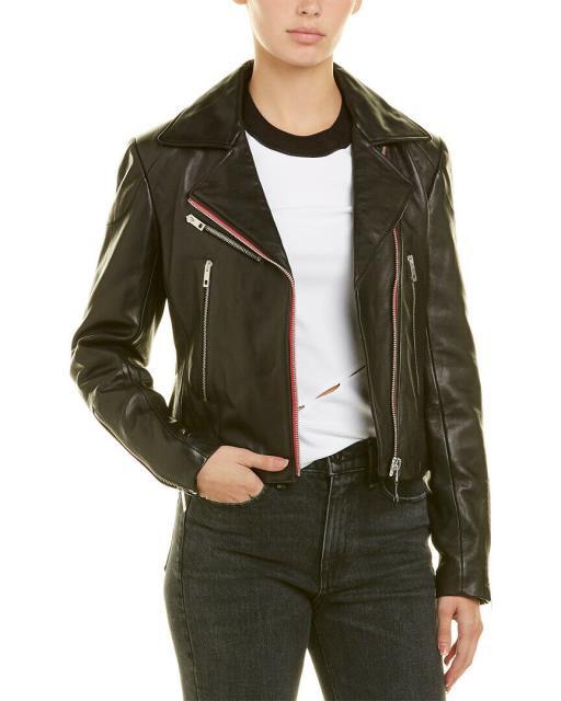 入園入学祝い rag Leather & bone ラグ&ボーン ファッション ラグ&ボーン 衣類 Rag & Bone Bone Griffin Leather Jacket 0 Black, オリジナル職人屋:2c21e978 --- ai-dueren.de