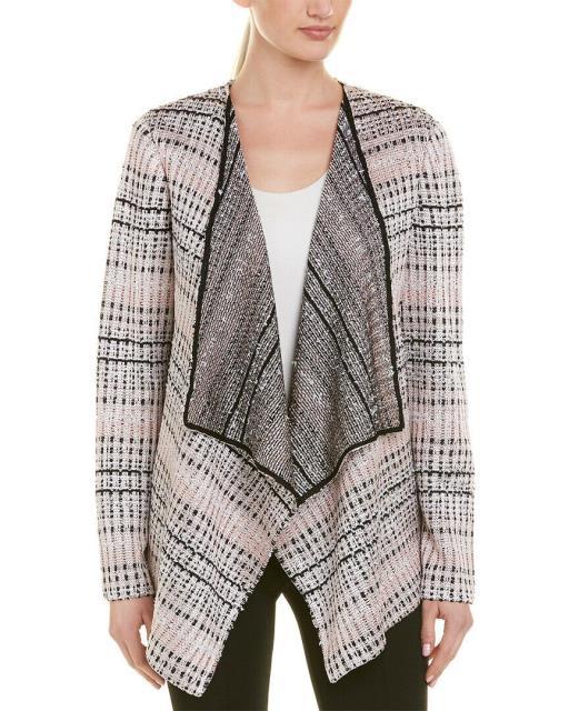 激安ブランド ファッション 衣類 St. John Wool-Blend Cardigan P Pink, 歌津町 42c539ca