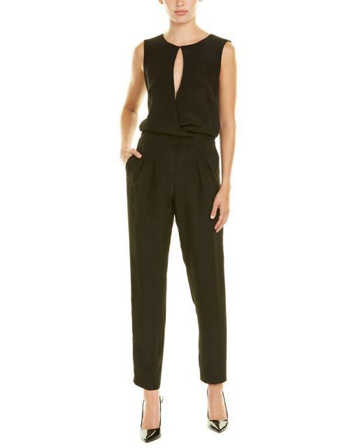 【2019春夏新色】 Black Akris 4 Silk ドレス アクリス ファッション Jumpsuit Akris-ドレス