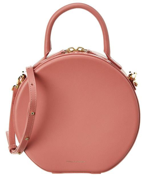 新規購入 ファッション ファッション バッグ Mansur Gavriel Circle Gavriel Leather Crossbody Mansur Pink, ドレス通販 アールズガウン:4fe68875 --- 1gc.de