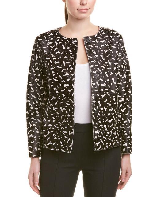 トップ ESCADA エスカーダ ファッション 衣類 Escada Haircalf Jacket 40 Black, Outlet Plaza b7b310af