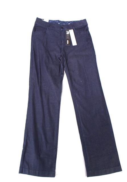 lee リー ファッション パンツ Lee NEW Blue Womens Size 12 Midnight Rinse Stretch Straight Leg Trouser