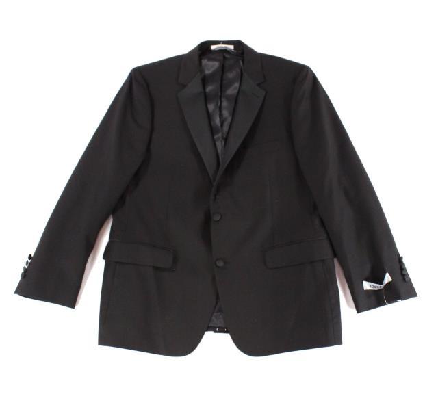 【日本未発売】 Blazer ブレザー Blazer ファッション フォーマル DKNY NEW ブレザー Black Blazer Mens Size 42 Short Two Button Wool Blazer Sportcoat, バスケットと収納の店ラタンハウス:4d4fbe50 --- net-fair.de
