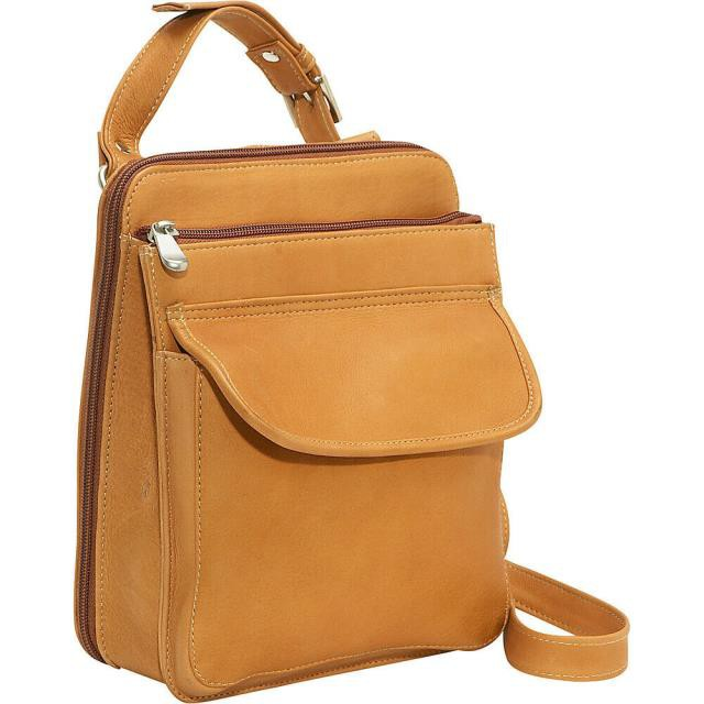 【誠実】 Le Donne Leather Donne ファッション Bag バッグ Le Donne Leather Organizer Leather Bag 3 Colors Cross-Body Bag NEW, オリジナルギフト贈る酒:cced0700 --- chevron9.de