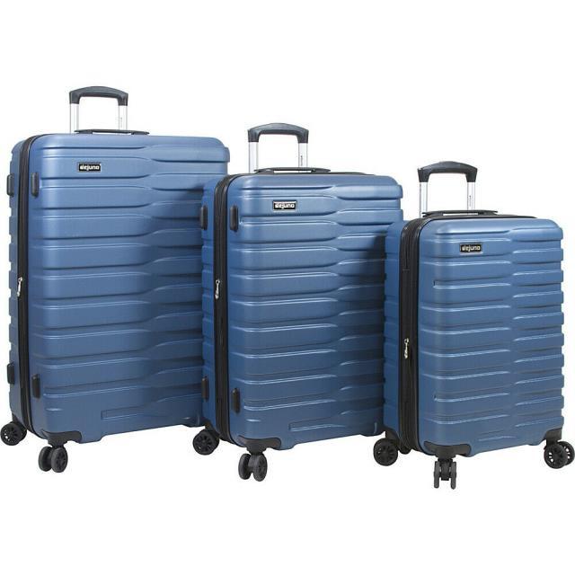 【楽天最安値に挑戦】 Dejuno 旅行用品 キャリーバッグ Dejuno Hardside Cortex Dejuno Lightweight 3 Piece Luggage Hardside Spinner Luggage Set NEW, 絵画と額縁のアートギャラリー前田:2e9a25f9 --- kzdic.de