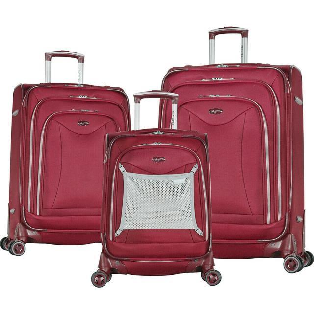 大人気の Olympia 旅行用品 キャリーバッグ Luxe Olympia USA Luxe 旅行用品 II 3 Piece USA Expandable Spinner Luggage Luggage Set NEW, 神戸ミニアチュール:39cc142f --- chevron9.de