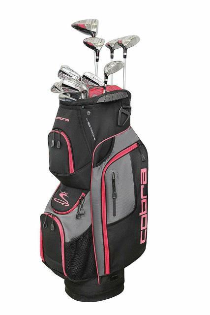 全国総量無料で cobra コブラ スポーツ用品 ゴルフ Cobra Golf 2019 XL Speed Complete Womens 13-Piece Package Set, DESIGN+ 6b085521