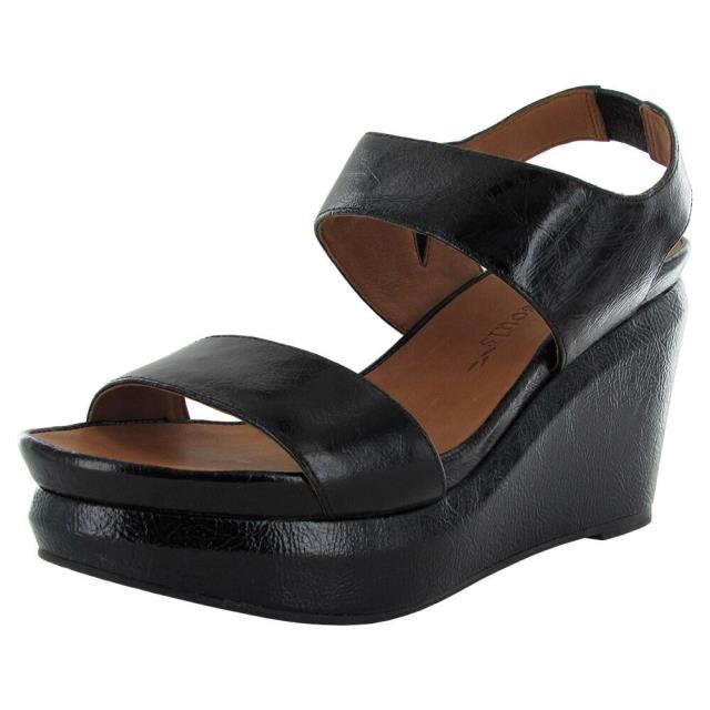 【楽天スーパーセール】 Gentle Souls ジェントルソウルズ Sandal シューズ Gentle US Souls Womens Womens Juniper Barry Platform Sandal Shoe Black Patent US 10, 若者の大愛商品:ca69e6ef --- paderborner-film-club.de
