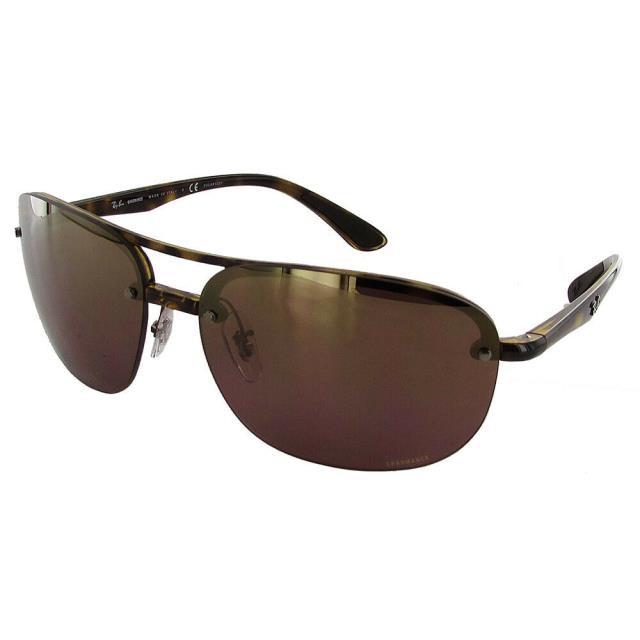 限定価格セール! Mirror ファッション Chromance サングラス Ray Ban Ray Mens RB4275 Chromance Polarized ファッション Sunglasses Tortoise/Purple Mirror, 鳥福:c0294f47 --- chevron9.de
