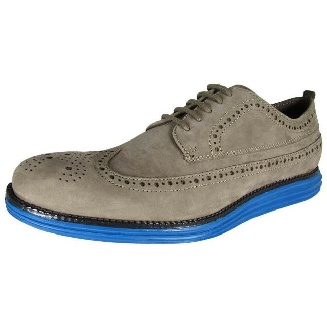 2019特集 Cole Haan Cole コールハーン ファッション シューズ Cole US Haan Mens ファッション OriginalGrand Long Wingtip II Oxford Shoes Otter/Navy US 8, cocoiro Gift market:ac0f39b1 --- kzdic.de