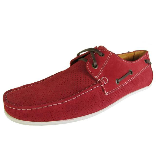 限定版 Donald シューズ J Pliner ドナルドJプリナー ファッション US シューズ Donald J Pliner ファッション Mens Braden-23 Slip On Boat Shoes Red US 10, ブランド通販サイト stylevoke:55d2c9c6 --- 1gc.de