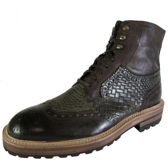 最高の シューズ ブーツ - Donald Donald J. Pliner Mens ブーツ ZIROC - 56 Brogues, テルショップジャパン:a70ce57a --- kzdic.de