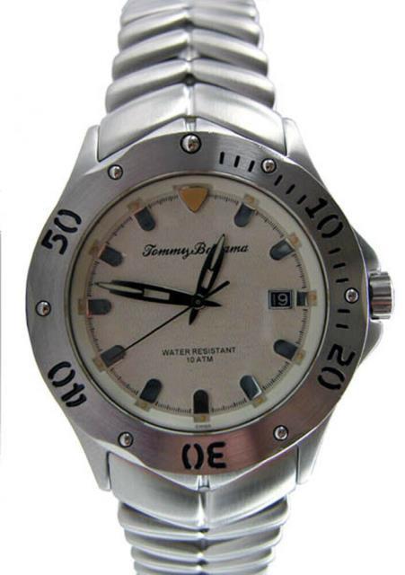 【予約販売品】 Bahama Steel 時計 Mens Tommy ファッション TB3012 トミーバハマ Victory Bahama Tommy Watch $395-その他アクセサリー・ジュエリー