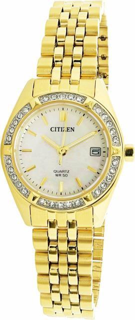 ファッションデザイナー citizen シチズン ファッション 時計 Citizen EU6062-50D Womens シチズン Citizen EU6062-50D Gold Stainless-Steel Plated Analog Quartz Dress Watch, ビジネスサプライセンター:63820517 --- frauenfreiraum.de