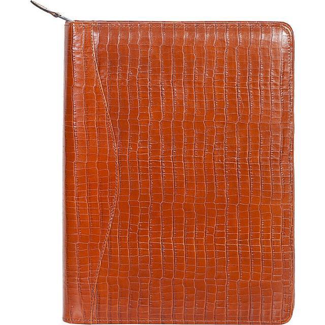 【希望者のみラッピング無料】 lizard リザード Embossed アクセサリー Scully Lizard Business Embossed Letter Leather Zip Around Letter Pad - Business Accessorie NEW, 旭区:a7512aa3 --- frauenfreiraum.de