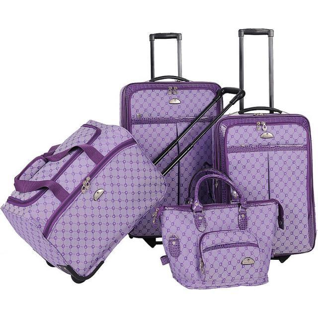 最高級のスーパー American 旅行用品 キャリーバッグ American Flyer AF Signature 4-Piece Luggage Set 6 Colors, おくすりやさん 2948fbee