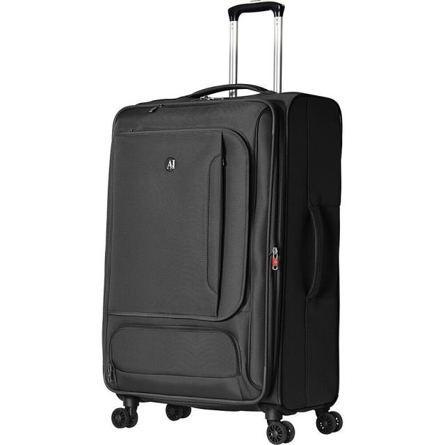 "【大特価!!】 Olympia 旅行用品 キャリーバッグ Olympia USA Petra 30"" Expandable Checked Spinner Softside Checked NEW, シープウィング e7023115"