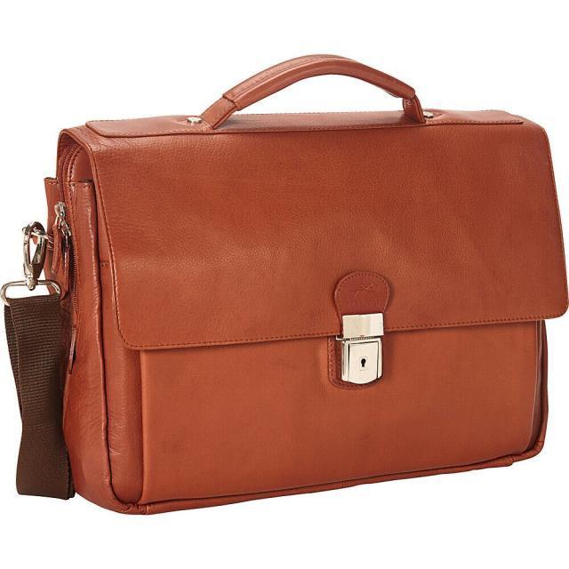 """新しいコレクション Mancini Mancini Leather Goods 15"""" 旅行用品 キャリーバッグ Mancini キャリーバッグ Leather Goods Colombian Triple Compartment 15"""" Non-Wheeled Business C, 山江村:d8485371 --- kzdic.de"""