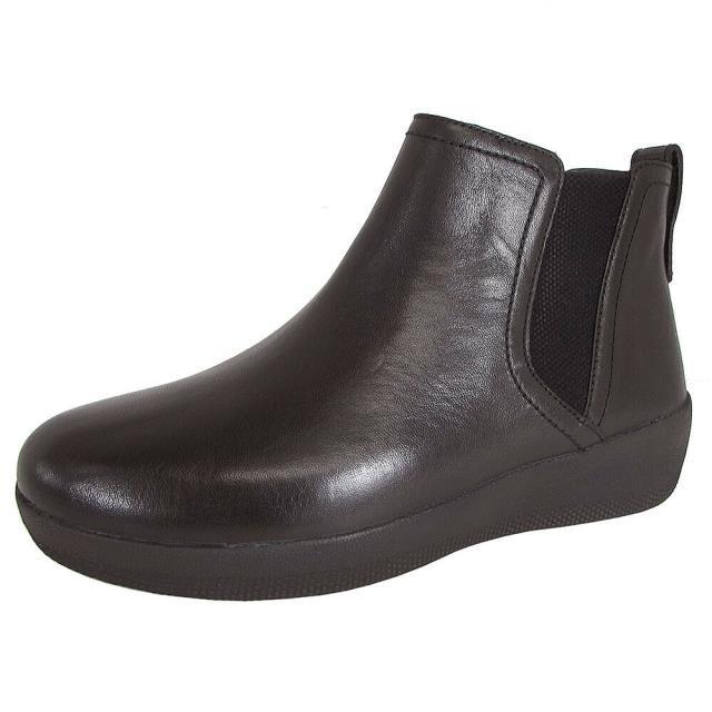 【在庫僅少】 FitFlop フィットフロップ シューズ ブーツ Fitflop シューズ Womens Boot Womens Superchelsea Pull On Leather Boot Shoes, Noone:1d17a58d --- kulturbund-sachsen-anhalt.de