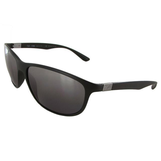 【開店記念セール!】 Mirror ファッション サングラス Ray Ban Tech Mens 4213 LiteForce Polarized Sunglasses Green/Silver Mirror, Haibiハイビー インターナショナル 98c8c7a7
