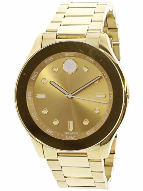 2019年春の Gold Stainless-Steel ゴールド ファッション 時計 Gold Movado Womens Bold 3600416 Quartz Gold Stainless-Steel Quartz Dress Watch, 駒ヶ根市:711edf6d --- net-fair.de