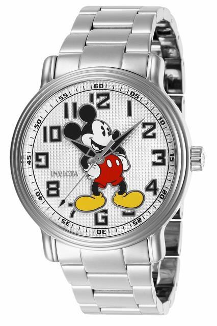 2019人気の Disney ディズニー ディズニー ファッション 時計 Invicta Silver Disney Mens Disney 27392 Silver Stainless-Steel Quartz Fashion Watch, 上高井郡:60f84ab5 --- ai-dueren.de