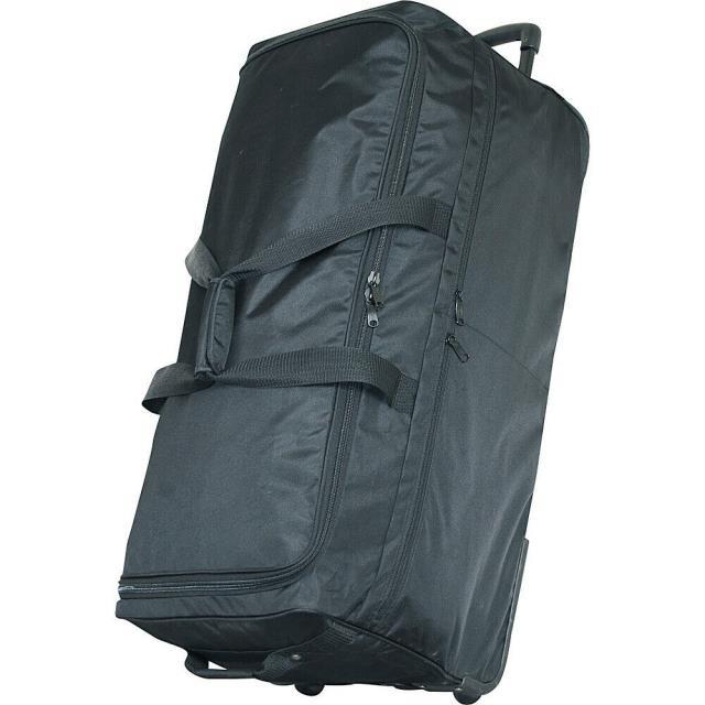 """素敵な Netpack 旅行用品 キャリーバッグ Netpack Netpack 35"""" 35"""" Ultra Simple Wheeled Duffel - - Black Rolling Duffel NEW, アルファオメガ:1b204ba7 --- chevron9.de"""