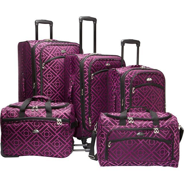 最新の激安 American 旅行用品 キャリーバッグ Set American Flyer Astor Collection 旅行用品 5 Piece Luggage Spinner Luggage Luggage Set NEW, 虫退治:40de418b --- kzdic.de