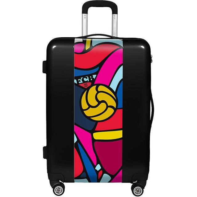 """格安SALEスタート! Retro 旅行用品 キャリーバッグ Ugobags FCB Retro Balls 22"""" Hardside Spinner Carry-On Softside Carry-On NEW, 京都豆富 faa801b5"""